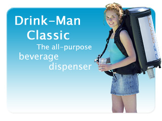 Beverage dispenser DrinkMan Classic